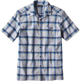 Patagonia A/C Shortsleeve Shirt Men blue/white